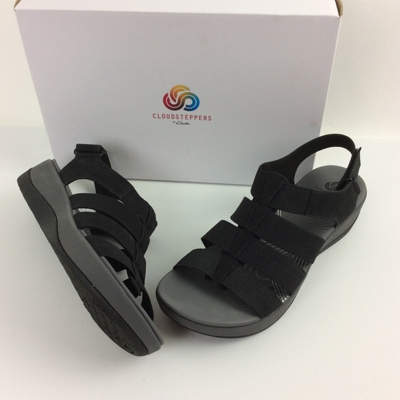 ca543d02625 Clark s Cloud Steppers Sandals Sz 9 Arla Shaylie